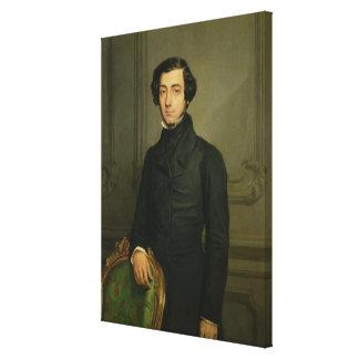 チャールズアレキシスアンリーClerel de Tocqueville 1850年 キャンバスプリント