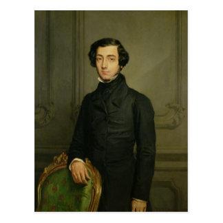チャールズアレキシスアンリーClerel de Tocqueville 1850年 ポストカード