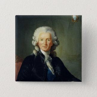 チャールズアレグサンダーde Calonne 5.1cm 正方形バッジ
