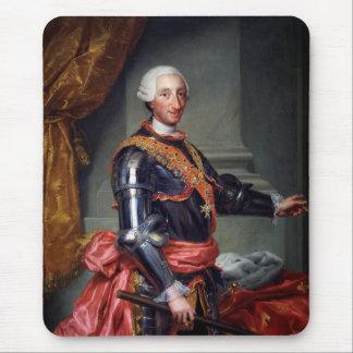 チャールズアントンRaphael Mengs 1761年によるスペインのIII マウスパッド