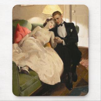 チャールズエドワード部屋: ロマンチックなカップル マウスパッド