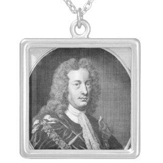 チャールズスペンサー、サンダランドの第3伯爵 シルバープレートネックレス