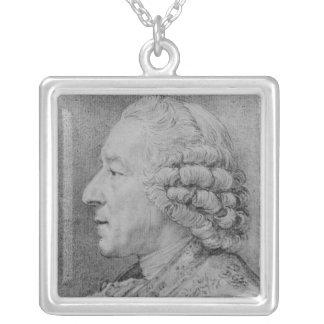 チャールズニコラスコシャン1767年 シルバープレートネックレス