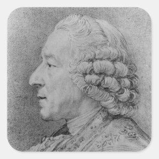 チャールズニコラスコシャン1767年 スクエアシール