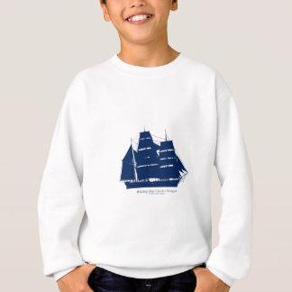 チャールズモーガン贅沢なfernandesの捕鯨船 スウェットシャツ