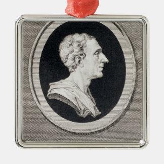 、チャールズルイde Secondat de Montesquieu男爵 メタルオーナメント