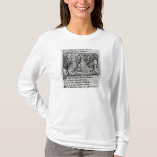 チャールズ包囲のVIIそしてジャンヌダルクの Tシャツ