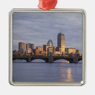 チャールズ川およびLongfellow橋 メタルオーナメント