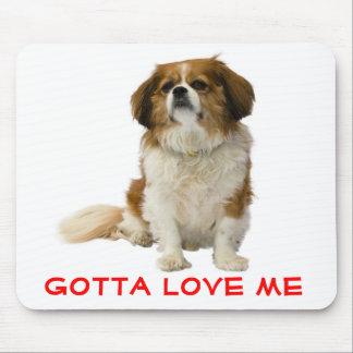 チャールズ愛無頓着な王スパニエル犬の小犬 マウスパッド