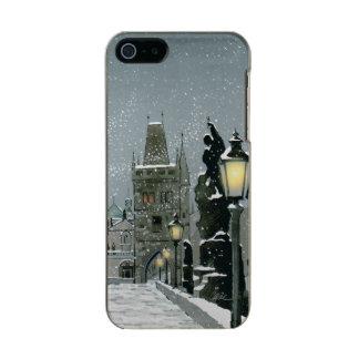 チャールズ橋iPhone SE/5/5Sの輝やき メタリックiPhone SE/5/5sケース