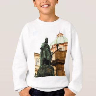 チャールズ王の彫像、プラハ スウェットシャツ