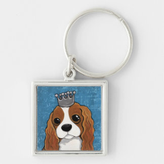 チャールズ王スパニエル犬|犬の芸術 キーホルダー