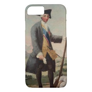 チャールズ王猟師、1786/88としてIII (1716-88年) iPhone 8/7ケース