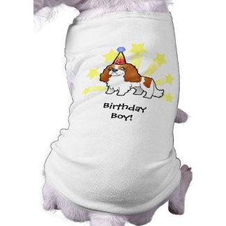 チャールズ誕生日無頓着な王スパニエル犬 ペット服