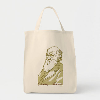 チャールズ・ダーウィンのバッグ トートバッグ