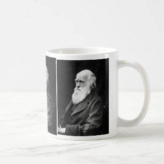 チャールズ・ダーウィンのポートレートの写真 コーヒーマグカップ
