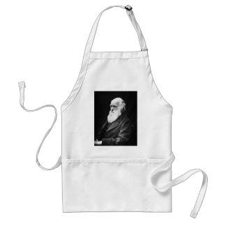 チャールズ・ダーウィンのポートレート スタンダードエプロン