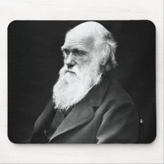 チャールズ・ダーウィンのポートレート マウスパッド