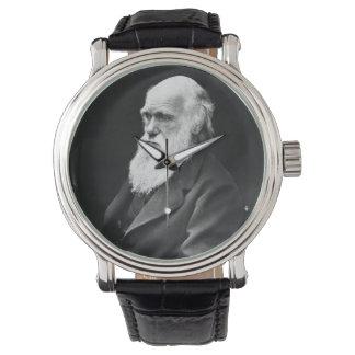 チャールズ・ダーウィンのポートレート 腕時計
