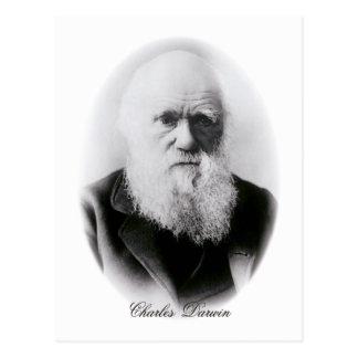 チャールズ・ダーウィンのヴィグネット ポストカード