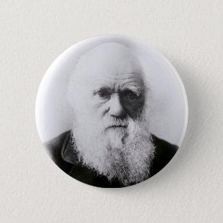 チャールズ・ダーウィンのヴィグネット 缶バッジ