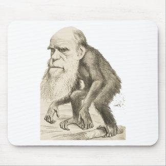 チャールズ・ダーウィン猿の人 マウスパッド
