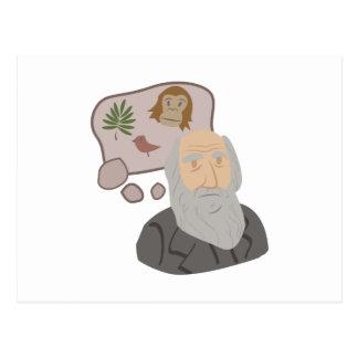 チャールズ・ダーウィン ポストカード