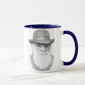 チャールズ・ダーウィン-適応可能な引用文 マグカップ