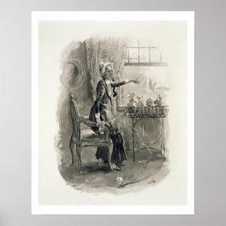 「チャールズ・ディケンズからのBetsy Trotwood夫人、: Gossi ポスター