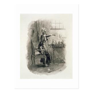 「チャールズ・ディケンズからのBetsy Trotwood夫人、: Gossi ポストカード