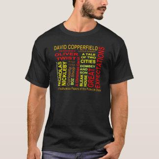 チャールズ・ディケンズの単語の雲 Tシャツ
