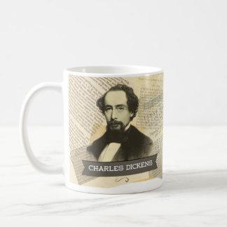 チャールズ・ディケンズの歴史的マグ コーヒーマグカップ
