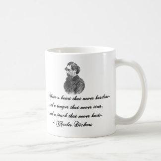 チャールズ・ディケンズ私達の共通の友達の引用文 コーヒーマグカップ