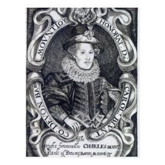 、チャールズBlount Mountjoy第8男爵 ポストカード