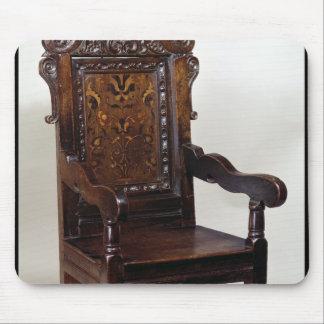 チャールズI肘掛け椅子、1600年代中頃 マウスパッド