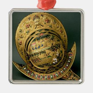 チャールズIX (1550-74年の) 16世紀(金ゴールドのヘルメット メタルオーナメント