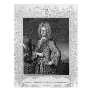 チャールズMordauntのピーターバラの伯爵 ポストカード