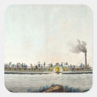 チャールズPhilippeの最初の蒸気船 スクエアシール