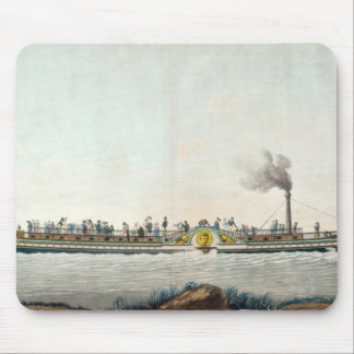 チャールズPhilippeの最初の蒸気船 マウスパッド