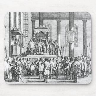 チャールズSconeで戴冠するII 1651年 マウスパッド