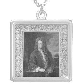 、チャールズTalbot Shrewsburyの公爵 シルバープレートネックレス
