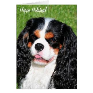 チャールズTri-Color Holiday Card無頓着な王 カード