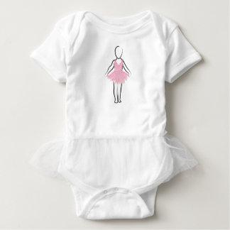 チュチュが付いているチュチュ愛赤ん坊のボディスーツ ベビーボディスーツ