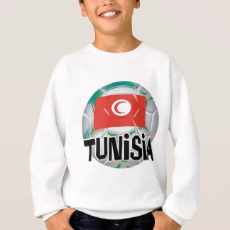 チュニジアのサッカーのFutbolのチーム スウェットシャツ