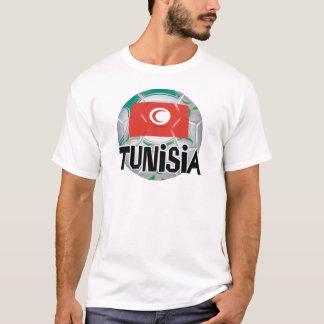 チュニジアのサッカーのFutbolのチーム Tシャツ