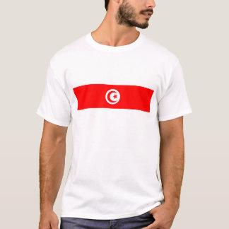 チュニジアの国旗の名前の文字の記号 Tシャツ