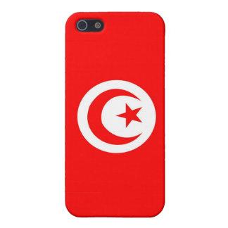 チュニジアの国旗の箱 iPhone 5 ケース