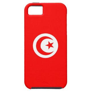 チュニジアの国旗の箱 iPhone SE/5/5s ケース
