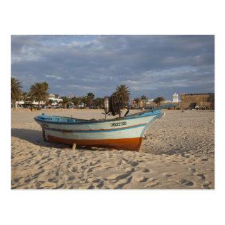 チュニジアの帽子の糖菓、Hammametの水辺地帯、Kasbah ポストカード