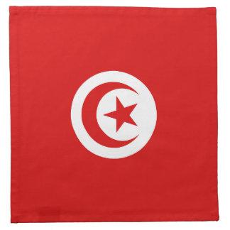 チュニジアの旗のナプキン ナプキンクロス